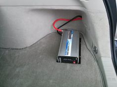 An inverter can be an inexpensive way to get some electrical power in an emergency. Here is how to install an inverter in a Toyota Prius for use as a generator in a blackout or power outage. Stealth Camping, Minivan Camping, Truck Camping, Camping Hacks, Camping Stuff, Camping Ideas, Electric, Cargo Van, Toyota Prius
