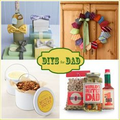 DIYs for Dad on Fathers Day or birthday gifts for dads in general... or just men