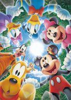 TEN-D108-734 ディズニー ココロをつなごう!!(ミッキー) 108ピース ジグソーパズル[CP-D]