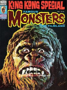 King Kong by Basil Gogos for a FMOF cover