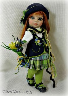 Spring's First Flowers for Tonner's Patsy by Dress*Ups by pj, via Flickr