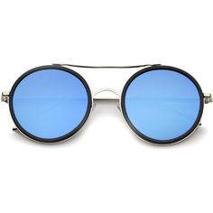 Modern flat lens round mirrored lens sunglasses a454 (46 BRL) ❤ liked on Polyvore featuring accessories, eyewear, sunglasses, glasses, óculos, mirrored lens sunglasses, round sunglasses, round metal frame sunglasses, mirror sunglasses and round rim sunglasses