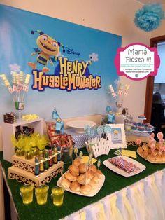 Henry Hugglemonster | CatchMyParty.com