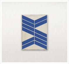 Minimalist Abstract Geometric Paintings by Alain Biltereyst. © Alain Biltereyst