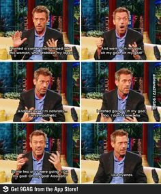 Hugh Laurie, I love him