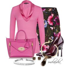Etcetera Outfit by imclaudia-1 on Polyvore featuring мода, Sergio Rossi, Mulberry, Tory Burch, Swesky and Etcetera
