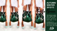 Leather Backpack Bottle Green Color JUD Hand Made by JUDtlv, $286.00