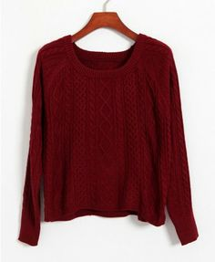 Long Sleeves Woolen Yarn Pullover - Knitwear - Clothing