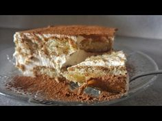 YouTube Pastry Design, Baking Videos, Gourmet Recipes, Tiramisu, Banana Bread, The Best, Sweets, Candy, Ethnic Recipes