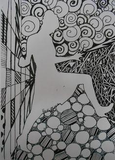 Bidt af billedkunst!: Doodlende vikar!