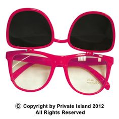 67fc8e74b299 Flip Up Sunglasses 80 s Hot Pink Wayfarer Style 1047