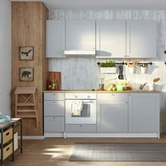 knoxhult ikea grey kitchen house renovation pinterest wohnung k che k che und neue wohnung. Black Bedroom Furniture Sets. Home Design Ideas