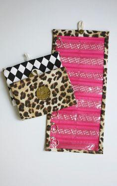 Pillfold Zoe - leopard print for your pills! #leopard #animalprint #fall #pillorganizer www.pillfold.com
