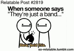 My reaction to when 5sos say their just a band, or they don't love you...just be warned