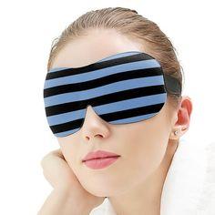 Masca de Dormit 3D Colorata, cu Dungi, Jaluzele de Ochi pentru Dormit Eyes, Beauty, Human Eye