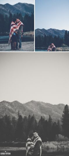 Camping Engagement Session Los Angeles