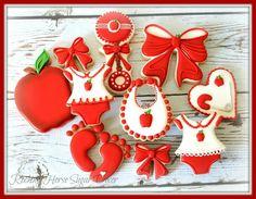 Apple Baby Cookies
