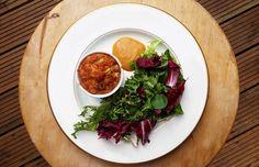 Pra jantinha de hoje: receita de um bolinho de brócolis sem glúten!