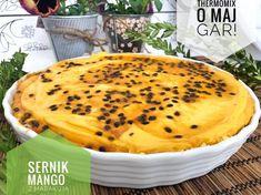 Sernik mango z marakują jest to przepis stworzony przez użytkownika Anita Rączka. Ten przepis na Thermomix® znajdziesz w kategorii Słodkie wypieki na www.przepisownia.pl, społeczności Thermomix®. Mango, Pancakes, Breakfast, Food, Thermomix, Manga, Morning Coffee, Essen, Pancake