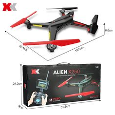 XK X250 - A 5.8G FPV Quadcopter-74.39 and Free Shipping| GearBest.com