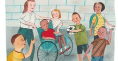 The first school we tried was wheelchair-accessible, but there were still…