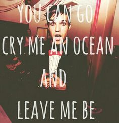 """""""You can go cry me an ocean and leave me be"""" Save Rock and Roll Fall Out Boy Band Quotes, Music Quotes, Band Memes, Music Is My Escape, Music Is Life, Fall Out Boy, Great Bands, Cool Bands, Save Rock And Roll"""