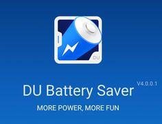 DU Battery Saver 4.0 é um aplicativo gratuito para Android, que lhe auxiliará na redução do tempo de bateria do seu celular, com novo material designer