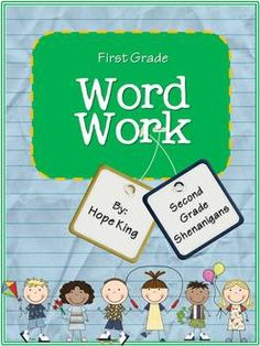First Grade Word Work includes 28 units to build letter/sound relationships and word skills. Each unit contains a weekly list and a challenge list ...