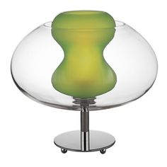 Soft Table Lamp (Apple Green Glass)