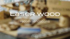 Laser Wood - Recommendations Keep Laser Wood in the original packaging unil it's used Store it indoor, horizontally on a flat base, away from moisture . Plastic Material, Laser Engraving, Conditioner, Packaging, Indoor, Base, Organic, Let It Be, Flat