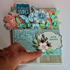 Shawna's Stampin' Spot: Pop Up Card Box for a Spring Birthday