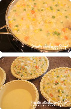 Cheater Chicken Potpie...this is a great recipe and a freezer dinner also.