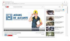 Plan de limpieza de alcantarillado de Aguas de Alicante   El Blog de APEHA Smart Water, Alicante, Projects, Blog, Log Projects, Blue Prints, Blogging