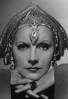 Gilbert Adrian, Greta Garbo in Mata Hari directed by George Fitzmaurice 1931 photo by Clarence Sinclair Bull