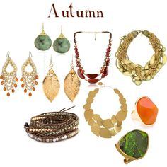 """autumn jewelry"" by expressingyourtruth on Polyvore"