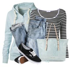 Black and White Vans by daiscat on Polyvore featuring polyvore, fashion, style, Fat Face, Frame Denim, J.Crew, Vans, Ted Baker, Dettagli, women's clothing, women's fashion, women, female, woman, misses and juniors