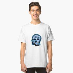 'Gorilla Headphones Head Mascot Retro' T-Shirt by patrimonio Vintage T-shirts, Iphone Case Covers, Tshirt Colors, Wardrobe Staples, Female Models, Chiffon Tops, Retro Fashion, Heather Grey, Classic T Shirts