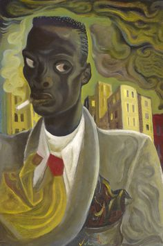 Downtown Dandy, 2016 by John Byrne (Scottish African American Art, American Artists, Harlem Renaissance Artists, Portraits, Portrait Paintings, John Byrne, Glasgow School Of Art, Art Society, Art For Art Sake