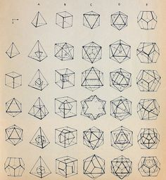 Love geometry!  It reminds me of art class, only with math equations involved :)