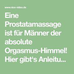 arabische sex prostata massage wie