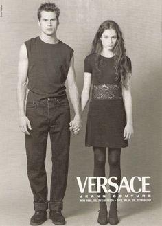 Versace Jeans F/W 1996 - Mark Vanderloo & Lonneke Engel