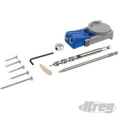 KREG Pocket Hole Jig System - R3 12.5 - 38mm Capacity