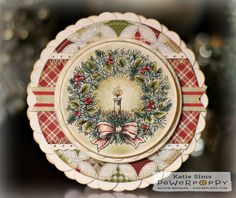 Two wreaths. Three holiday accents. Five sentiments. Endless possibility! Whether you use the robust wreath composed of a myriad of evergreens, berry clusters, and Magnolia leaves — or — the classical