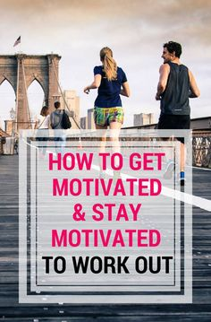 Tips on how to get motivated and stay motivated to workout and lose weight from a former fat girl turned weight loss coach.