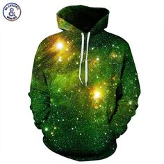 Mr.1991INC Space Galaxy 3d Sweatshirts Men/Women Hoodies With Hat Print Stars Nebula Autumn Winter Loose Thin Hooded Hoody Tops #women, #men, #hats, #watches, #belts, #fashion