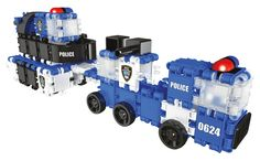 Police Truck and Trailer