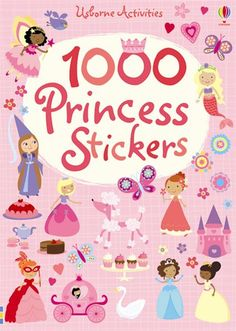 Buy 1000 Princess Stickers by Lucy Bowman at Mighty Ape NZ. From satin slippers to ivory towers, this magical book is full of princess-themed stickers and enchanting scenes to decorate. A delightful activity fo. Little Girl Gifts, Flower Girl Gifts, Owl Kids, Young Wedding, Book Gifts, Illustrations, Book Activities, Activity Books, Little Princess