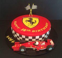 Ferrari 2015 birthday cake