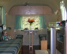 1964 airstream globetrotter - Google Search Notice the sock critters