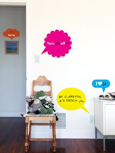 The Coolest Wall Decals for Kids' Rooms | Kids Room Ideas for Playroom, Bedroom, Bathroom | HGTV